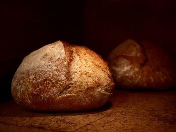 Zuurdesem witbrood tarwe